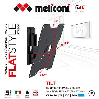 Meliconi ETR-200 FLAT pas cher