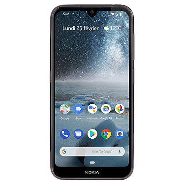 "Nokia 4.2 Dual SIM Noir Smartphone 4G-LTE Dual SIM - Snapdragon 439 8-core 1.95 GHz - RAM 3 Go - Ecran tactile 5.71"" 720 x 1520 - 32 Go - NFC/Bluetooth 4.2 - 3000 mAh - Android 9.0"