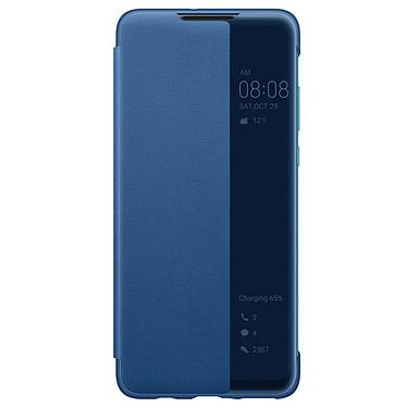 Huawei Smart View Flip Cover Bleu P30 Lite  Étui folio pour Huawei P30 Lite