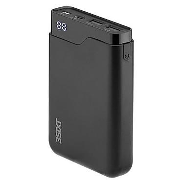 3SIXT JetPak LED 10 000 mAh Batería externa de 6000 mAh con USB-C y 2x puertos USB-A 2.0