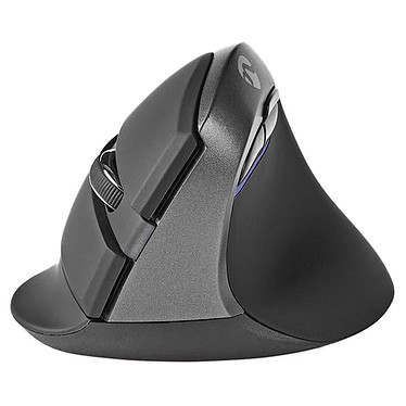 Nedis Wireless Ergonomic Mini Mouse Souris sans fil ergonomique - droitier - capteur optique 1600 dpi - 6 boutons