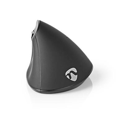 Nedis Wireless Ergonomic Mouse Noir (ERGOMSWS100BK) Souris ergonomique sans fil - capteur optique 1600 dpi - 6 boutons