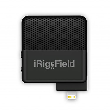 IK Multimedia iRig Mic Field Microphone stéréo ultra-compact pour iPhone/iPad/iPod Touch