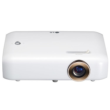 LG Minibeam PH550G Vidéoprojecteur de poche LED DLP - HD (1280x720) - 550 Lumens - 3D Ready - HDMI/VGA - Bluetooth audio - Batterie intégrée
