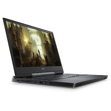 "Dell G5 15-5590 (G5590-7934BLK-PFR) Intel Core i7-8750H 8 Go SSD 256 Go + HDD 1 To 15.6"" LED Full HD NVIDIA GeForce GTX 1050 Ti 4 Go Wi-Fi AC/Bluetooth Webcam Windows 10 Famille 64 bits"