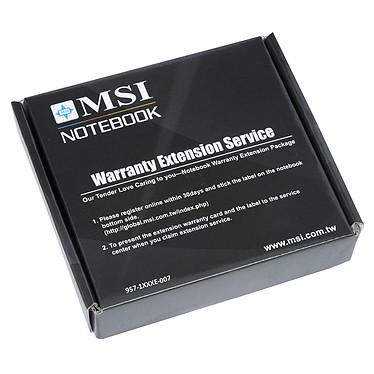 MSI PS42 8RB-036FR + MSI Sleeve Bag OFFERT + Extension de garantie 1 an supplémentaire pas cher