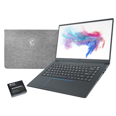 "MSI PS63 Modern 8RC-025FR + MSI Sleeve Bag OFFERT + Extension de garantie 1 an supplémentaire Intel Core i7-8565U 16 Go SSD 512 Go 15.6"" LED Full HD NVIDIA GeForce GTX 1050 4 Go Wi-Fi AC/Bluetooth Webcam Windows 10 Famille 64 bits + Pochette de rangement + Enlèvement/retour - Pièces et main d'oeuvre"