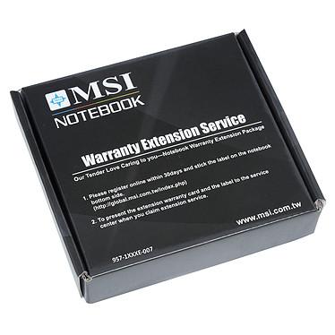 MSI PS63 Modern 8RC-025FR + MSI Sleeve Bag OFFERT + Extension de garantie 1 an supplémentaire pas cher