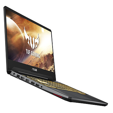 "ASUS TUF505DT-AL253T AMD Ryzen 5 3550H 16 Go SSD 256 Go + HDD 1 To 15.6"" LED Full HD 120 Hz NVIDIA GeForce GTX 1650 4 Go Wi-Fi AC/Bluetooth Webcam Windows 10 Famille 64 bits"