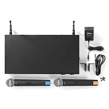 Acheter Nedis Kit 2 Microphones Sans Fil 16 Canaux