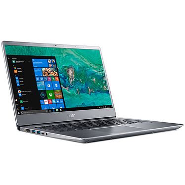 "Acer Swift 3 SF314-56-31UL Gris Intel Core i3-8145U 4 Go SSD 256 Go 14"" LED Full HD Wi-Fi AC/Bluetooth Webcam Windows 10 Famille 64 bits"