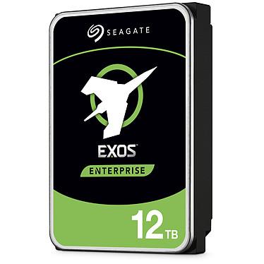 "Seagate Exos X12 HDD 12 To (ST12000NM0037) Disque dur 3.5"" 12 To 7200 RPM 256 Mo SAS 3.0 12 Gb/s 512e/4Kn avec auto-chiffrement (bulk)"