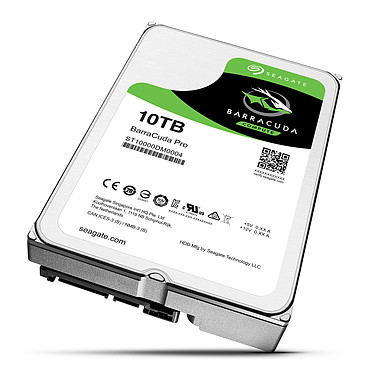 Avis Seagate BarraCuda Pro 10 To (ST10000DM0004)