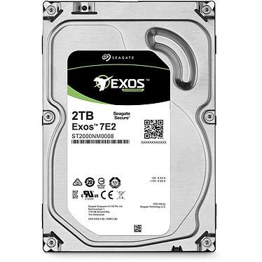 Avis Seagate Exos 7E2 3.5 HDD 2 To (ST2000NM0008)