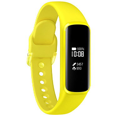 "Samsung Galaxy Fit e Jaune Montre connectée - RAM 128 Ko - écran PMOLED 0.74"" - Bluetooth 5.0 - 70 mAh - RealTime OS"