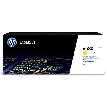 HP LaserJet 658X (W2002X)  Toner Jaune grande capacité (28 000 pages à 5%)