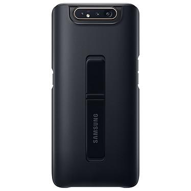 Samsung Coque Arrière Stand Noir Galaxy A80  Coque arrière avec stand pour Samsung Galaxy A80