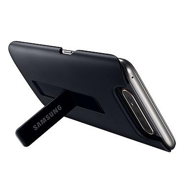 Acheter Samsung Coque Arrière Stand Noir Galaxy A80
