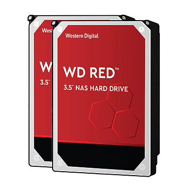 Western Digital WD Red 4 To SATA 6Gb/s (x 2)