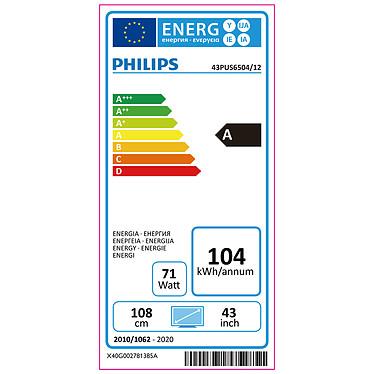 Philips 43PUS6504 pas cher