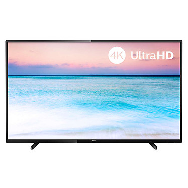 "Philips 50PUS6504 Téléviseur LED 4K Ultra HD 50"" (127 cm) 16/9 - 3840 x 2160 pixels - HDR - Wi-Fi - 1000 Hz - Son 2.0 20W"
