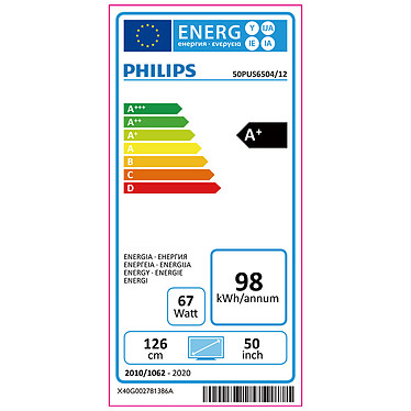 Philips 50PUS6504 pas cher