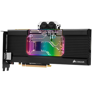 Avis Corsair Hydro X Series XG7 RGB GPU Water Block 2080 Ti FE