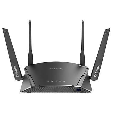 D-Link DIR-1960 Routeur Gigabit Dual-Band MESH Wi-Fi EXO AC1900 (1300 Mbps + 600 Mbps) MU-MIMO+ 4 ports Gigabit Ethernet - McAfee Protected