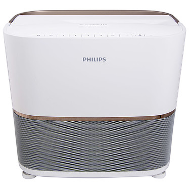Philips Screeneo U3 Vidéoprojecteur DLP Full HD 3D Ready - 2800 Lumens - Focale Ultra Courte - Wi-Fi/Bluetooth - DLNA - HDMI/VGA/USB - Système audio 2.1