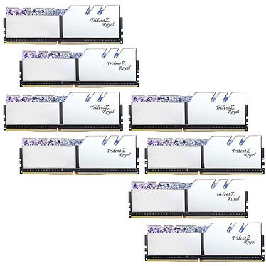 G.Skill Trident Z Royal 256 GB (8 x 32 GB) DDR4 3600 MHz CL16 - Plata Kit Quad Channel 8 modulos de RAM DDR4 PC4-28800 - F4-3600C18Q2-256GTRS con LEDs RGB