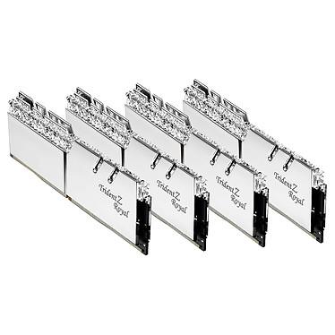 Avis G.Skill Trident Z Royal 64 Go (8 x 8 Go) DDR4 3200 MHz CL14 - Argent