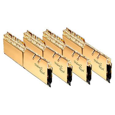 Avis G.Skill Trident Z Royal 64 Go (8 x 8 Go) DDR4 3600 MHz CL16 - Or