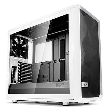 Fractal Design Meshify S2 TG (Blanc) Boîtier Moyen Tour Blanc avec fenêtre en verre trempé