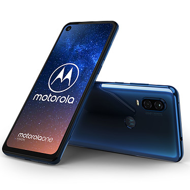 Acheter Motorola One Vision Bleu + Motorola VerveBuds 500 OFFERT !