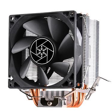 SilverStone Krypton KR02 Ventilateur de processeur Low Profile pour Socket Intel LGA115X/1366/2011/2066 et Socket AMD AM2/AM3/AM4/FM1/FM2