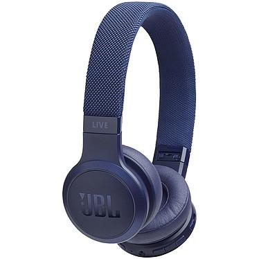 JBL LIVE 400BT Bleu Casque supra-auriculaire fermé sans fil Bluetooth - Autonomie 24 h - Appels mains libres - Amazon Alexa / Google Assistant