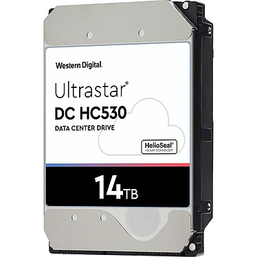 "Western Digital Ultrastar DC HC530 14 To (0F31051) Disque dur serveur 3.5"" 14 To 7200 RPM 512 Mo SAS 12Gb/s 512e TCG (bulk)"