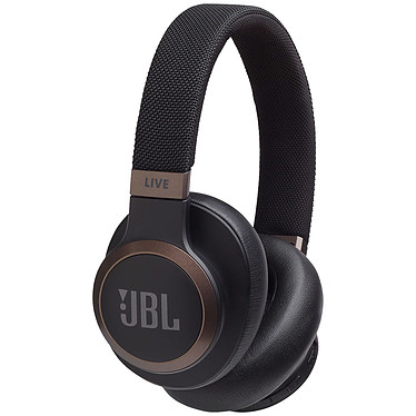 JBL LIVE 650BTNC Negro Auriculares inalámbricos Bluetooth cerrados Circum-aural - 30 horas de duración de la batería - Reducción de ruido - Llamadas manos libres - Amazon Alexa / Google Assistant