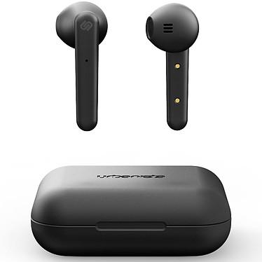 Urbanista Stockholm Noir Écouteurs intra-auriculaires sans fil Bluetooth avec micro intégré et boîtier de chargement