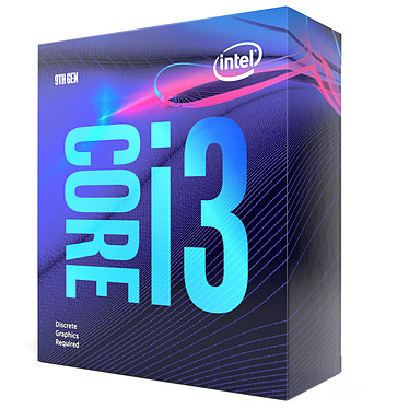 Avis Intel Core i3-9100F (3.6 GHz / 4.2 GHz)