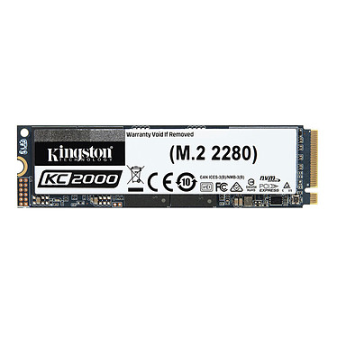 Kingston KC2000 M.2 PCIe NVMe 500 Go SSD 500 Go NVMe PCIe