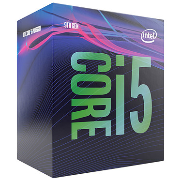 Intel Core i5-9500 (3.0 GHz / 4.4 GHz) Processeur 6-Core Socket 1151 Cache L3 9 Mo Intel UHD Graphics 630 0.014 micron (version boîte - garantie Intel 3 ans)
