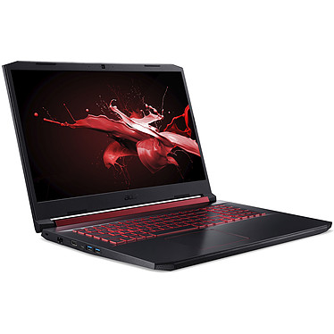 "Acer Nitro 5 AN517-51-50F2 Intel Core i5-9300H 8 Go SSD 256 Go 17.3"" LED Full HD 144 Hz NVIDIA GeForce GTX 1050 3 Go Wi-Fi AX/Bluetooth Webcam (sans OS)"