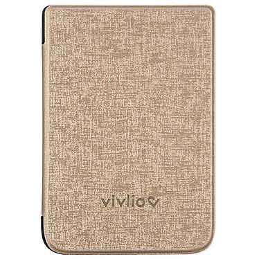Vivlio Housse TL4/HD+ Chinée Dorée Housse de protection pour liseuses Touch Lux 4 et Touch HD Plus