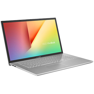 "ASUS Vivobook S17 S712FB-AU276T Intel Core i7-10510U 16 Go SSD 512 Go + HDD 1 To 17.3"" LED Full HD NVIDIA GeForce MX110 Wi-Fi AC/Bluetooth Webcam Windows 10 Famille 64 bits"