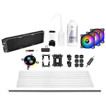 Thermaltake Pacific C360 DDC Kit Watercooling Tube Rigide Kit de Watercooling 360 mm complet