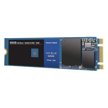 Western Digital SSD WD Blue SN500 500 Go SSD 500 Go M.2 PCIe NVMe 3.0 x2 NAND 3D TLC