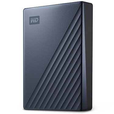 WD My Passport Ultra 4 To Bleu (USB 3.0/USB-C)