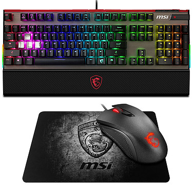 MSI Vigor GK80 CR (MX Red) + Clutch GM10 et Shield OFFERTS !