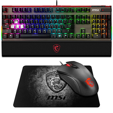 MSI Vigor GK80 CS (MX Silver) + Clutch GM10 et Shield OFFERTS !